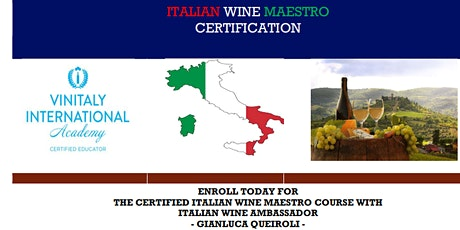 Italian Wine Maestro Certification tickets