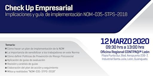 Implicaciones y guía de implementación NOM-035-STPS-2018