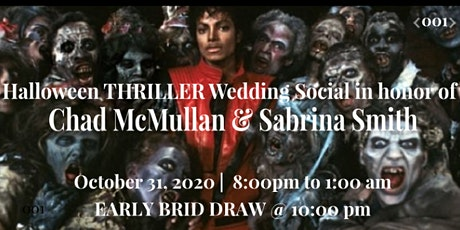 Halloween THRILLER Wedding Social tickets