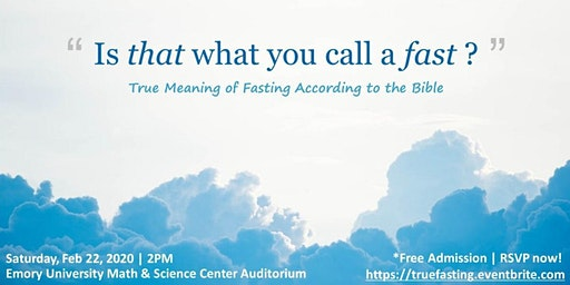 Is That What You Call A Fast? (True Meaning of Fasting in the Bible)