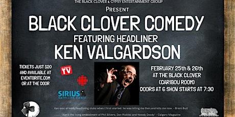 Black Clover Comedy featuring Ken Valgardson tickets