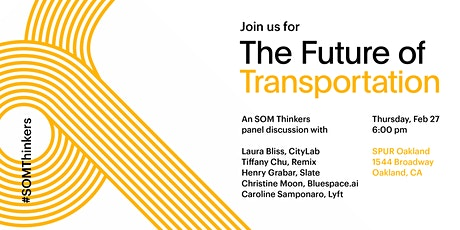 Panel Discussion—The Future of Transportation tickets