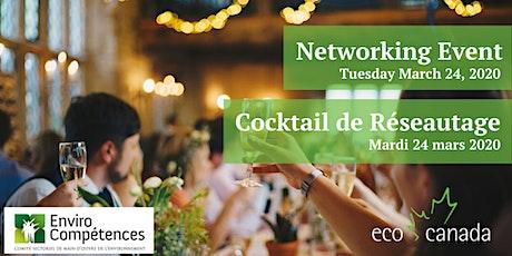 Événement de Réseautage Montréal 2020 / Environmental Professionals Networking Event 2020 billets