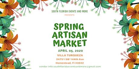 Spring Artisan Market tickets
