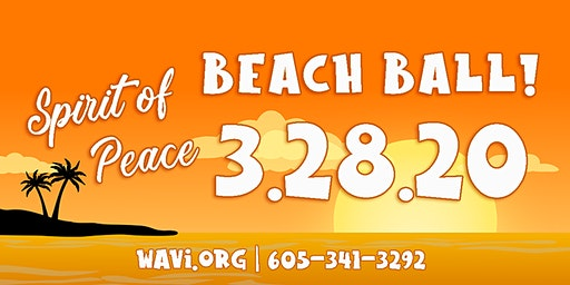 WAVI Spirit of Peace Beach Ball