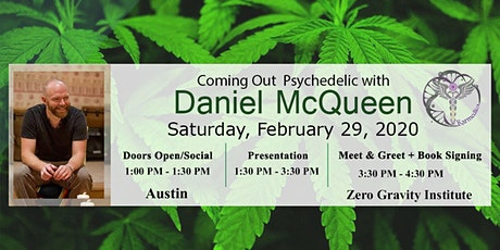 Coming Out Psychedelic with Daniel McQueen (Austin) tickets
