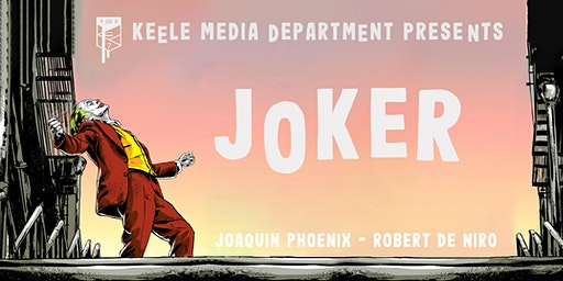 Media & Film Studies Screening: Joker