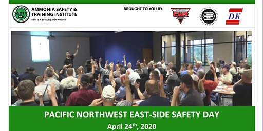 Pacific Northwest East-Side Safety Day April 24