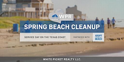 WPR Service Day! Texas Adopt-A-Beach 2020 Coastwide Fall Cleanup