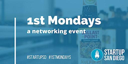 StartupSD 1st Mondays - March 2020
