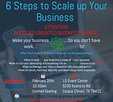6 STEPS TO SCALE UP YOUR BUSINESS