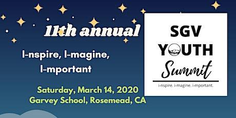 San Gabriel Valley Youth Summit 2020 tickets