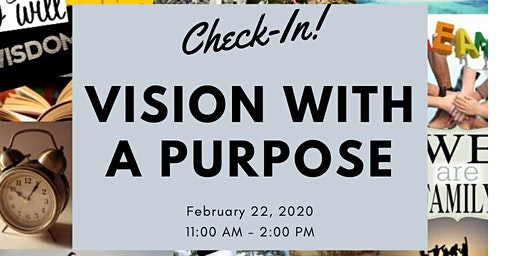 The Check-In: Vision With A Purpose