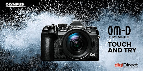 Olympus E-M1 III Touch & Try - Perth tickets