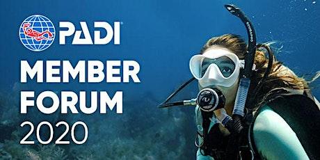 PADI Member Forum 2020 - Bogota, Colombia entradas