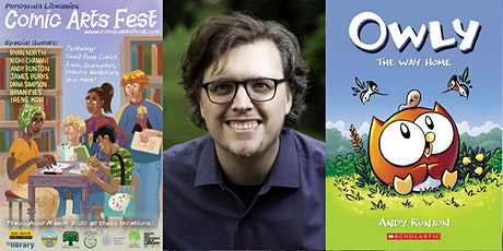 Meet Andy Runton, author of Owly - A PLCAF Event tickets