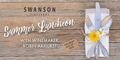 Summer Luncheon with Winemaker, Robin Akhurst tickets