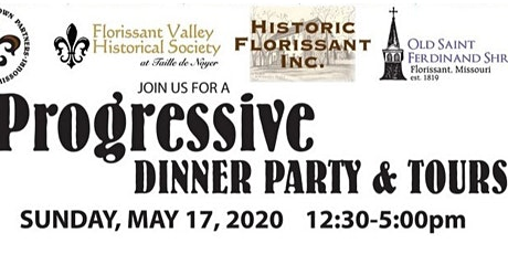 Florissant Historic Preservation Progressive Dinner tickets