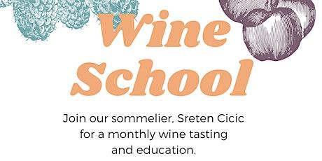 Wine School at Verdine tickets