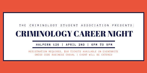 Criminology Career Night