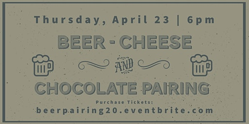 Beer, Cheese, and Chocolate Pairing