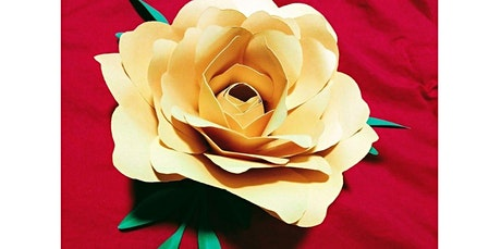 Paper Flower Creations w/ Natalie (08-03-2020 starts at 7:00 PM) tickets