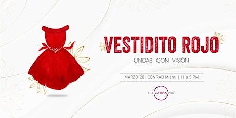 Vestidito Rojo: Unidas con Visión entradas