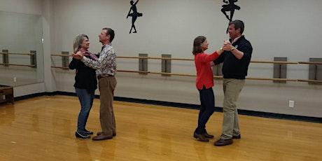 Beginner Ballroom--Part II Dance Class--4 Wk. Session tickets