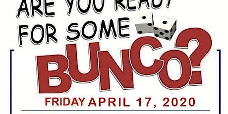 BUNCO tickets