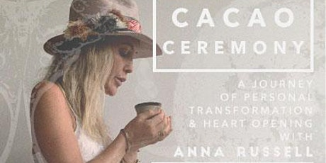 Cacao Ceremony tickets