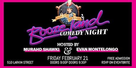 Free Comedy Night at Boozeland tickets