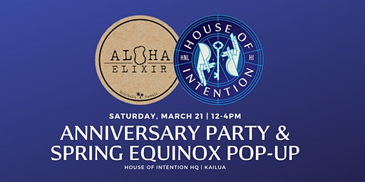 Spring Equinox Pop-Up and 5th Anniversary Party