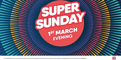 Super Sunday march tickets