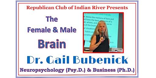 "Republican Club of IR  presents Gail Bubenick ""The  Female & Male Brain"""