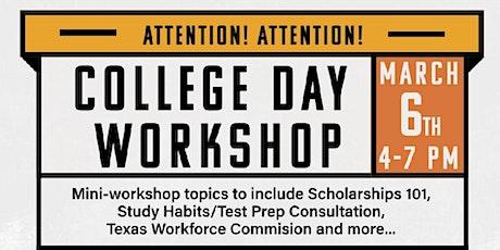 College Day Workshop tickets