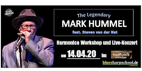 Mark Hummel  - Harmonica Party -  Workshop & Concert Tickets