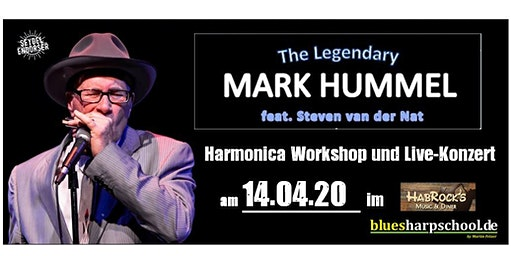 Mark Hummel  - Harmonica Party -  Workshop & Concert