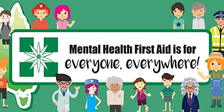 Mental Health First Aid Accredited Course 12/13 March tickets
