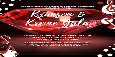 Krimson & Kreme Formal Gala tickets