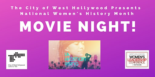 City of West Hollywood National Women's History Month
