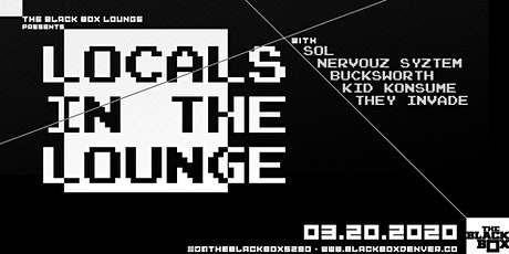 Locals in The Lounge tickets