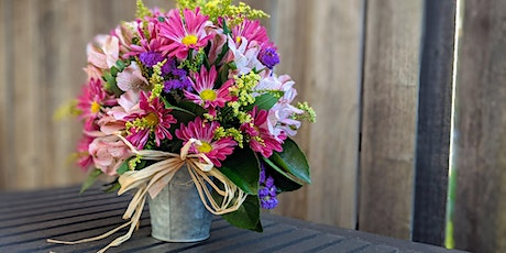 POSTPONED: Learn to make a Spring Flower Bouquet at Out of Bounds Brewery! tickets