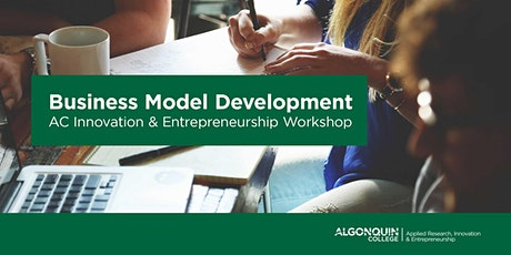 Algonquin College - IEC: Business Model Development tickets