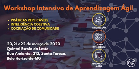 ALC Weekend em BH- Workshop Intensivo de Aprendiza ingressos