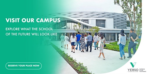 VERSO Campus Tours - Come visit us and play in our learning spaces