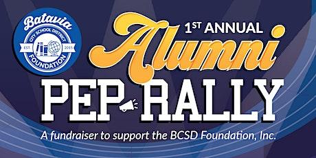 BCSD Foundation's 1st Annual Alumni Pep Rally tickets