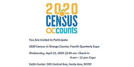 Orange County 2020 Census Quarterly Expo