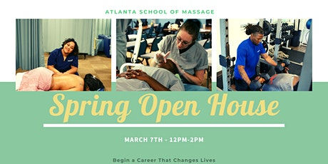 Open House at Atlanta School of Massage tickets