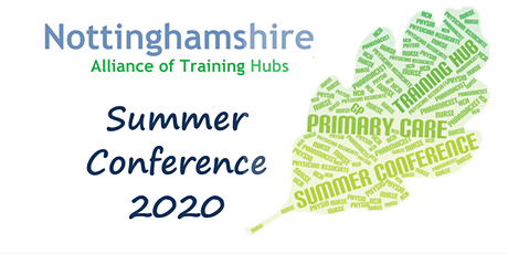 Postponed until later this year - Primary Care Summer Conference tickets