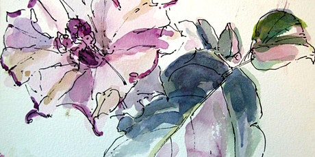 Botanical Sketching in Watercolor and Ink: Spring Flowers! tickets